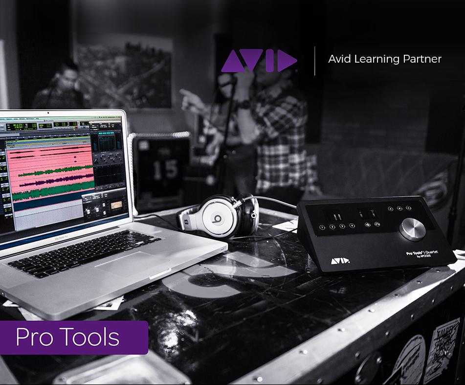 AVID Pro tools classes & certifications